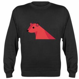 Sweatshirt Pink Mongoose - PrintSalon