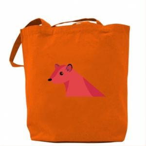 Bag Pink Mongoose - PrintSalon