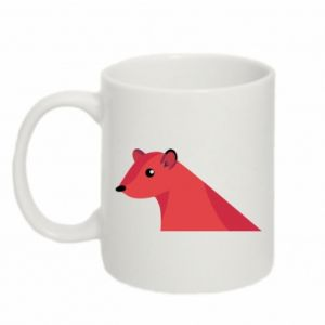 Mug 330ml Pink Mongoose - PrintSalon