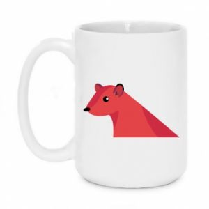Mug 450ml Pink Mongoose - PrintSalon