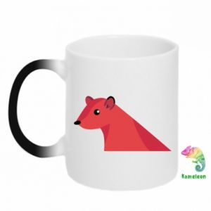 Chameleon mugs Pink Mongoose - PrintSalon