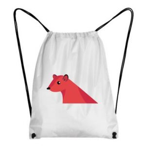 Backpack-bag Pink Mongoose