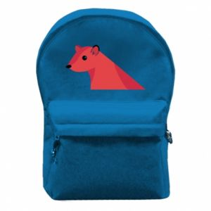Backpack with front pocket Pink Mongoose