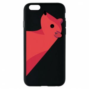Phone case for iPhone 6/6S Pink Mongoose