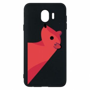 Phone case for Samsung J4 Pink Mongoose - PrintSalon