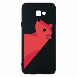Phone case for Samsung J4 Plus 2018 Pink Mongoose - PrintSalon