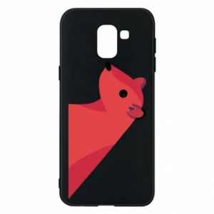 Phone case for Samsung J6 Pink Mongoose - PrintSalon