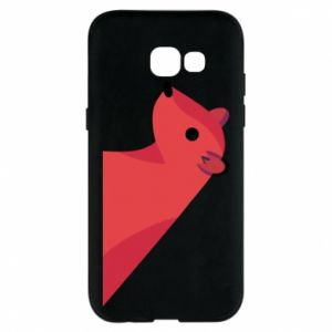 Phone case for Samsung A5 2017 Pink Mongoose - PrintSalon