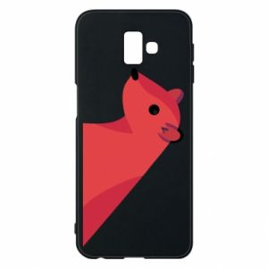 Phone case for Samsung J6 Plus 2018 Pink Mongoose
