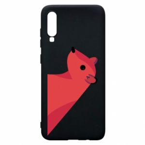 Phone case for Samsung A70 Pink Mongoose - PrintSalon