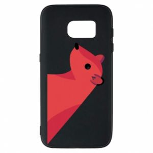 Phone case for Samsung S7 Pink Mongoose