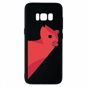 Phone case for Samsung S8 Pink Mongoose - PrintSalon