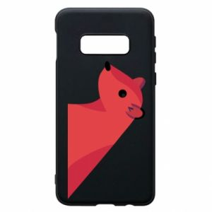 Phone case for Samsung S10e Pink Mongoose - PrintSalon