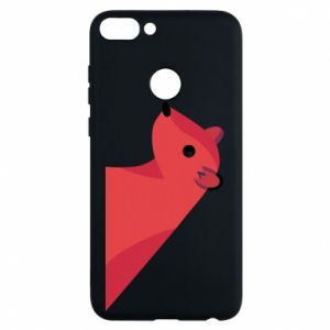 Phone case for Huawei P Smart Pink Mongoose