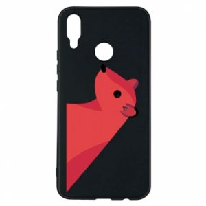 Phone case for Huawei P Smart Plus Pink Mongoose
