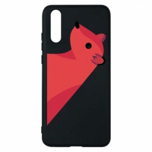 Phone case for Huawei P20 Pink Mongoose - PrintSalon