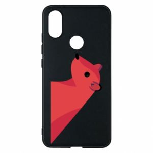 Phone case for Xiaomi Mi A2 Pink Mongoose - PrintSalon