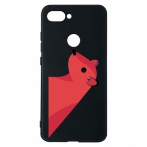 Phone case for Xiaomi Mi8 Lite Pink Mongoose - PrintSalon