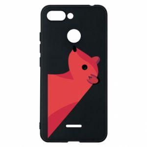 Etui na Xiaomi Redmi 6 Pink Mongoose