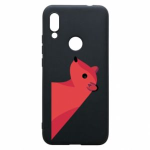 Phone case for Xiaomi Redmi 7 Pink Mongoose - PrintSalon