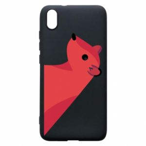 Phone case for Xiaomi Redmi 7A Pink Mongoose