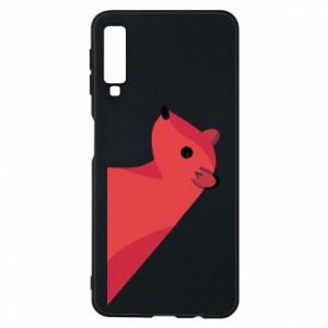 Phone case for Samsung A7 2018 Pink Mongoose - PrintSalon