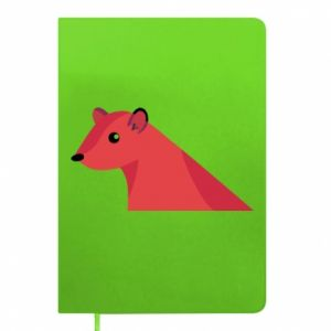 Notepad Pink Mongoose - PrintSalon