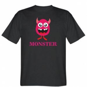 T-shirt Pink monster