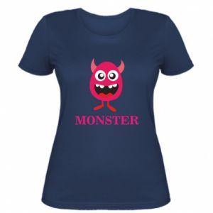 Women's t-shirt Pink monster