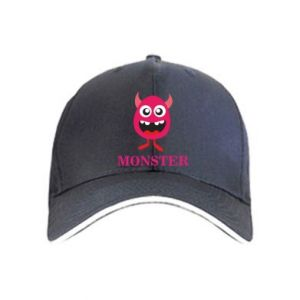 Cap Pink monster