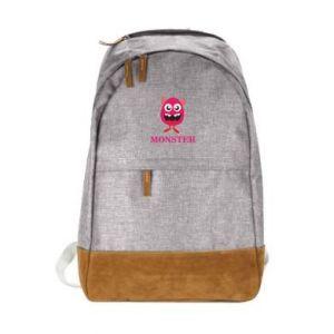 Urban backpack Pink monster