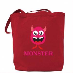 Torba Pink monster
