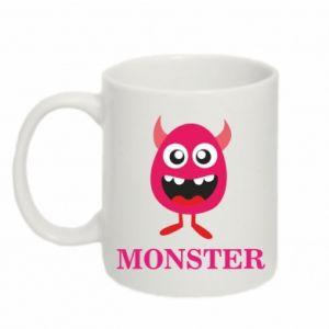 Kubek 330ml Pink monster