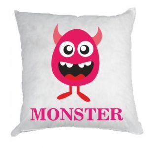 Poduszka Pink monster