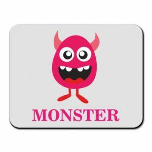 Podkładka pod mysz Pink monster