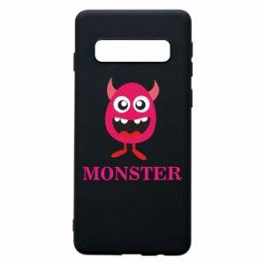 Phone case for Samsung S10 Pink monster