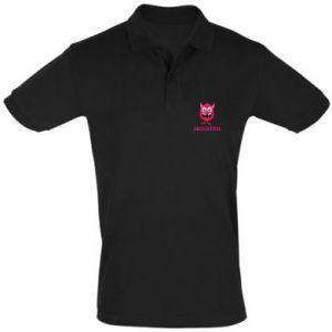 Men's Polo shirt Pink monster