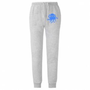 Spodnie lekkie męskie Blue octopus