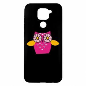 Etui na Xiaomi Redmi Note 9/Redmi 10X Pink owl