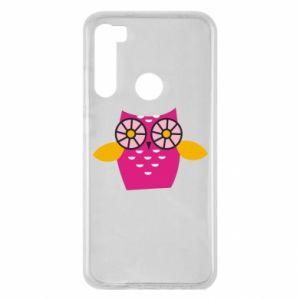 Etui na Xiaomi Redmi Note 8 Pink owl
