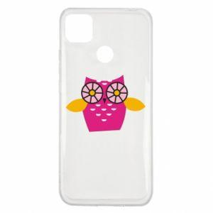 Etui na Xiaomi Redmi 9c Pink owl
