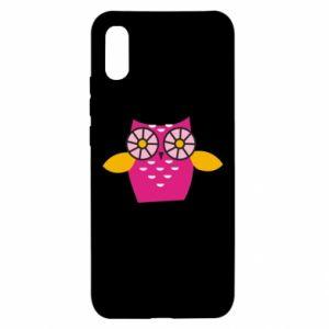 Etui na Xiaomi Redmi 9a Pink owl