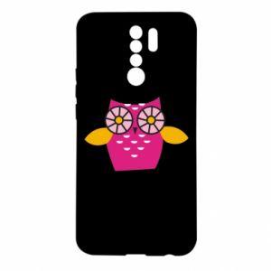 Xiaomi Redmi 9 Case Pink owl