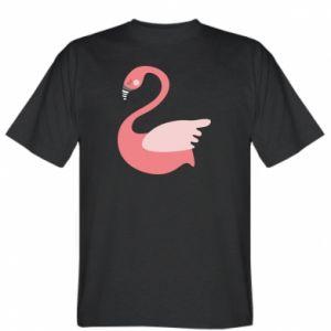 Koszulka męska Pink swan swims