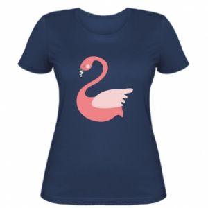 Koszulka damska Pink swan swims