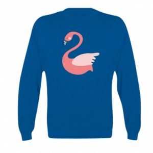 Bluza dziecięca Pink swan swims