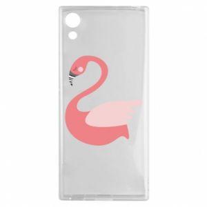 Etui na Sony Xperia XA1 Pink swan swims