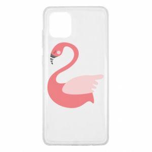 Etui na Samsung Note 10 Lite Pink swan swims