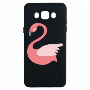 Etui na Samsung J7 2016 Pink swan swims