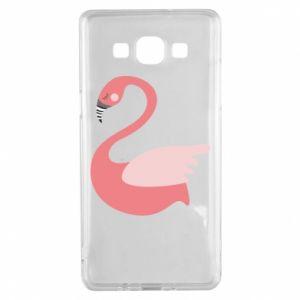 Etui na Samsung A5 2015 Pink swan swims